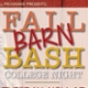 Fall Barn Bash Text